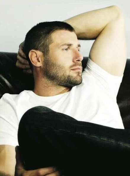 Beaut bloke beard masculine