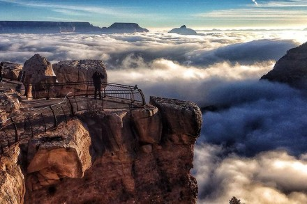 Clouds in Grand Canyon