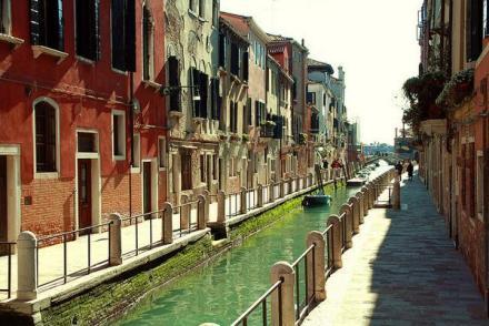 canal walk in Venice