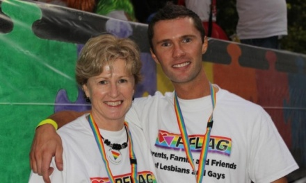 Christine & Thomas Milne at Mardi Gras