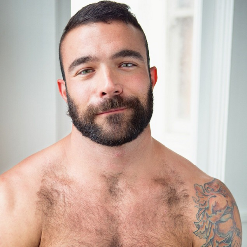 handsome, hunk, hairy chest, gay