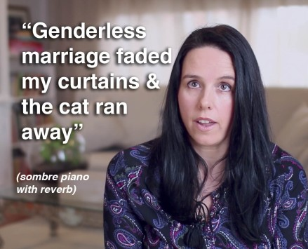genderless marriage pauline pantsdown