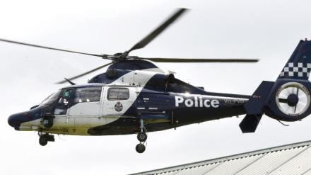 victoria police helicopter