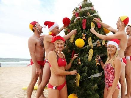 christmas at bondi